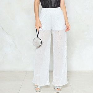 Nasty Gal disco pants